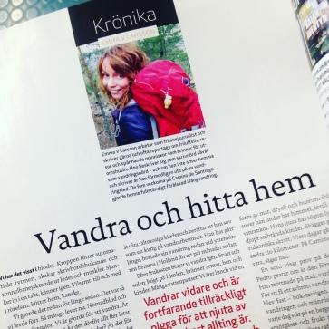 Krönika av Emma V Larsson i Utemagasinet.